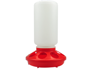 Small automatic chicken feeder