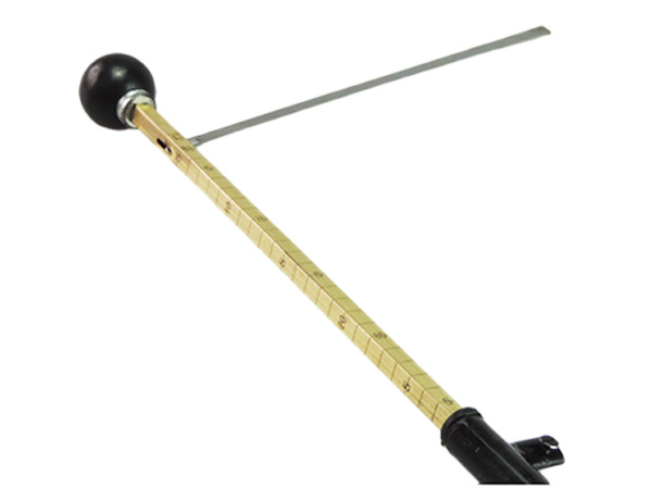 Cattle measuring rod