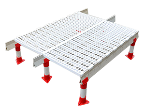 Chicken house plastic poultry slats flooring