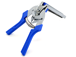 Animal cage hose clamp pliers tool